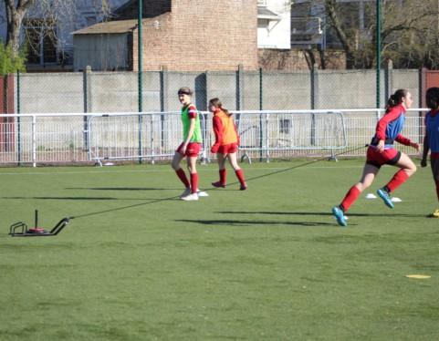Optimisation de l'explosivité :   Exemple au foot féminin